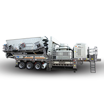 K Series Mobile  Crushing Plant
